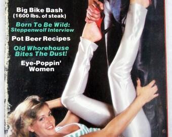 Vintage Easyriders Magazine w/ David Mann Poster January 1981 #91 (mature)