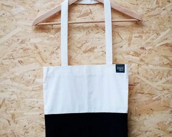 Suede tote bag, Monochrome tote, Leather tote bag, Handmade tote bag, Black suede tote, Customizable tote, Suede tote, Black suede bag,