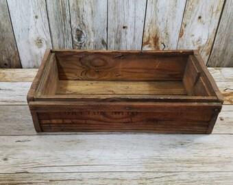AUTHENTIC ANTIQUE WOODEN Box