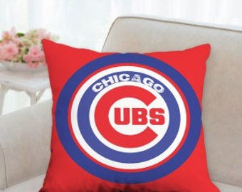 Chicago Cubs Sports Pillow