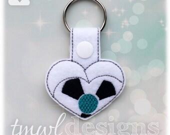 """Golf """"Hole In One"""" Heart Key FOB Digital Design File"""