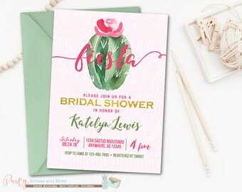 Fiesta bridal shower | Etsy