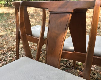 Set of 5 Mid Century Dining Chairs