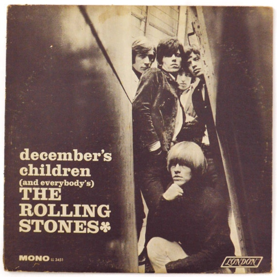 Vintage 60s The Rolling Stones December S Children And