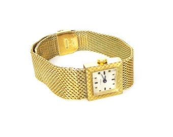 Vintage Tyson Swiss Germinal Voltaire Manual Ladies Watch - Gold Mesh Bracelet Band - Adjustable Size Band - Keeps Excellent Time 88