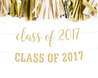 Class of 2017, Graduation Banner, Party Decor, High School Graduation, Graduation Photo, Graduation Decor, College Grad