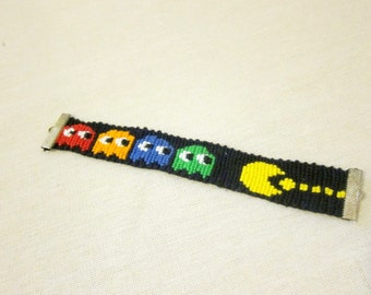 Pac-man Friendship Bracelet