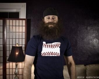Oregon baseball men's or ladies jr fit tee t-shirt