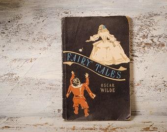 Oscar Wilde fairy tale English literature learning English vintage English book black book princess book easy English