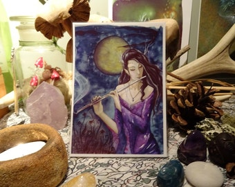 Enchanted Night ~ Mini Art Print