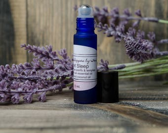 Sleep Oil, Sleep Aid, Sleep Remedy, Sleep Aids, Essential Oil Blend Sleep, Insomnia Balm, Lavender Rollerball, Roll On Oil, Lavender Roll On