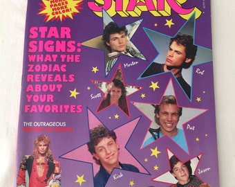 Tiger Beat Star Magazine May 1987 Vol 11 No 5  Exclusive Interview With Duran Duran Insider Plus The Outrageous David Lee Roth & The Monkees