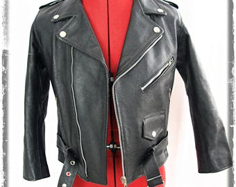 Petite Biker Motorcycle Jacket Size XS/34 UK6 US2