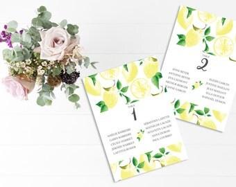 Marque places et supports etsy fr - Plan de table mariage a imprimer ...