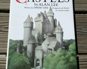 1984 Castles by Alan Lee Written by David Day, Bantam Books Castles, Castles Book, Hardcover Castles Book, Norse Sagas, Celtic Myth, Fantasy