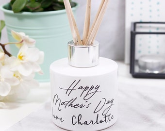 Typography Mother's Day Diffuser - Gift for mum - Mothers day gift - reed diffuser - typography gift -reed diffuser for her - Mothers day