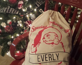 Oversized Santa Sacks - Personalized with Child/Pet/Family Name