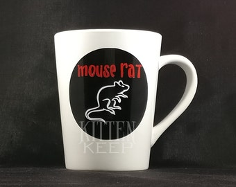 Mouse Rat Coffee Mug | Parks and Recreation Fan | Andy Dwyer Band
