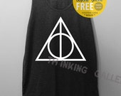Deathly Hallows Shirt Harry Potter Shirt Tanktop Unterhemd Tunika TShirt T Shirt