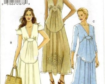Vogue V8384 Dress Pattern, Sz. 14, 16, 18, 20