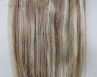 "20"" 160g SECRET-HALO-Magic wire Remy Human Hair extensions!! Thick!!  Grade 4A !!"