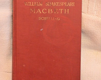 William Shakespeare's Macbeth, Pub. 1930