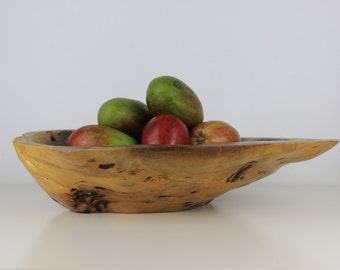 Bloodwood Burl LARGE Bowl or Dish