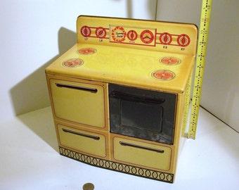 Vintage, 'Wolverine', Sunny Suzy' toy oven / stove 1950s era
