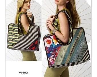 V1403 Patchwork Shoulder Bags Koos Van Den Akker Koos Couture Collection Vogue