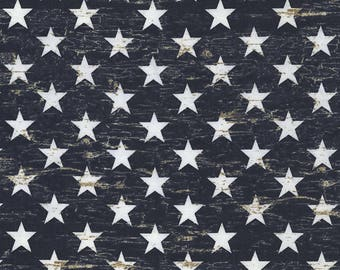 Patriotic Stars Fabric Fat Quarter, 1/3 Yard, 1/2 Yard, or By The Yard; C5568 Timeless Treasures; American Pride; Patriotic; Quilting Fabric