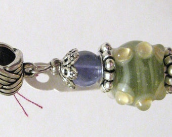 684 - CLEARANCE - Beaded Key Ring
