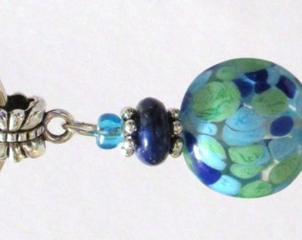 704 - CLEARANCE - Beaded Key Ring