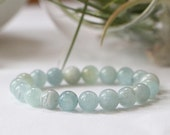 Aquamarine Stacker Bracelet