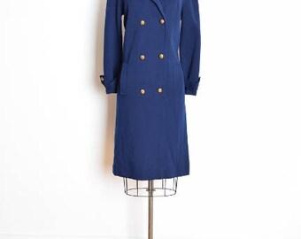 vintage 60s dress, 60s wool dress, butte knit dress, brass buttons, military dress, 1960s 60s clothing, ladylike dress, knit wool dress, L