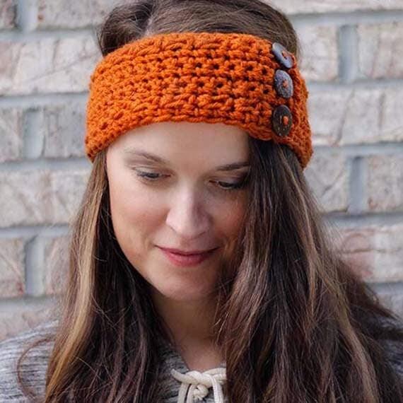 PDF Crochet Pattern - Ear Warmer Headband