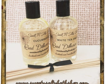 Reed Diffuser Oil Refill with Reeds-Choose Your Scent