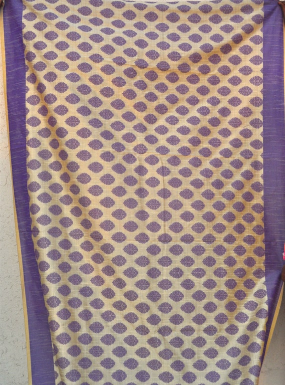 Chanderi Drapery Fabric Custom Drapery Sheer Curtain Fabric By The Yard From Vedahdesigns On