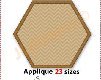 Hexagon Applique Design. Hexagon embroidery design. Embroidery design hexagon. Embroidery hexagon. Machine embroidery design