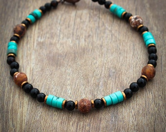 Men's Turquoise Bracelet