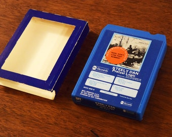 Steely Dan 8track Music Cartridge - Very Good Condition with Original 8 Track Sleeve - Pretzel Logic - Made in USA