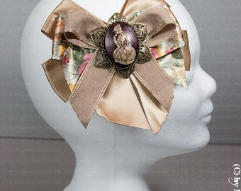 Adorable hair bow for the Viktor inaische Lady STEAMPUNK