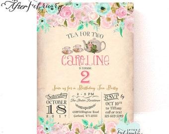 Tea For Two Invite