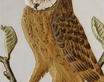Goebel Wildlife Third Edition No. 3 Barn Owl Plate