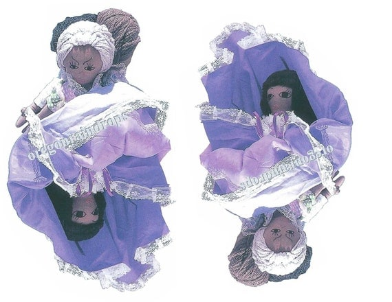 Knitting Pattern For Upside Down Cinderella Doll : Cinderella Topsy Turvy Cloth Doll Pattern Upside Down Doll