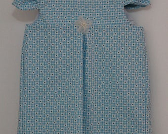 Blue Gingham dress in Size 2T