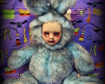 Doll 295 Undead blue Bunny