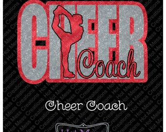 Cheer Coach SVG Download