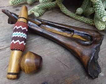 Native American Ceremonial Pipe - Miniature - [#242 - DC Floor L]