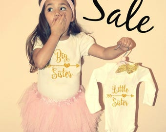 BIG Sister shirt big sister little sister outfits shirt promoted big sister announcement big sister gift matching big sister little sister