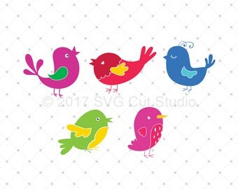 Birds SVG cut files for Cricut, Silhouette and other Vinyl Cutters, svg files